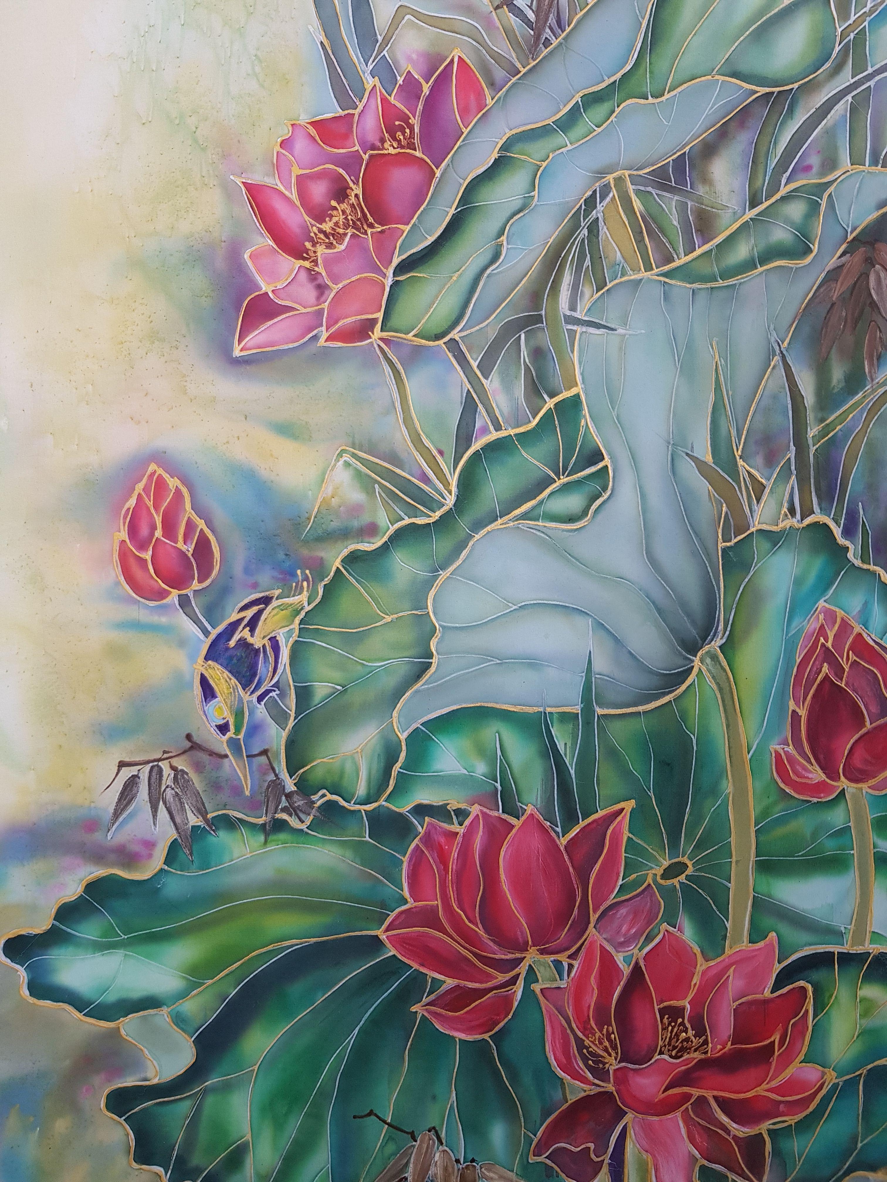 Батик (64 фото): что это такое? особенности свободной росписи по ткани и других видов батика. как правильно рисовать? история возникновения техники