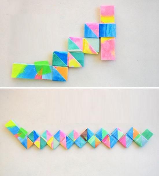 Как сделать браслет из бумаги: поэтапная инструкция