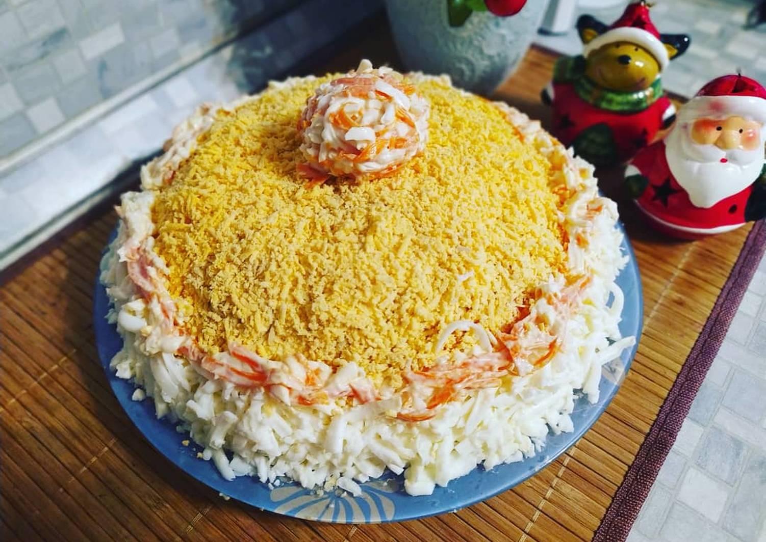 Салат мимоза - пошаговый рецепт с фото   будет вкусно