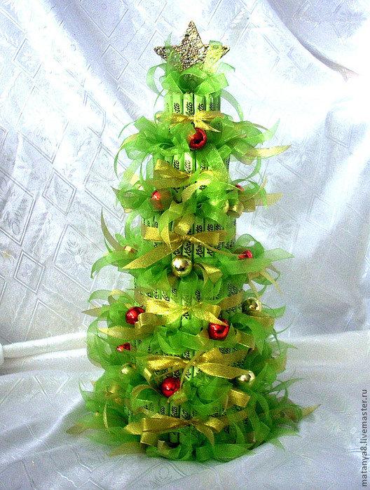 Большая новогодняя игрушка на уличную елку своими руками. как сделать конфету на елку своими руками: детальный мастер-класс