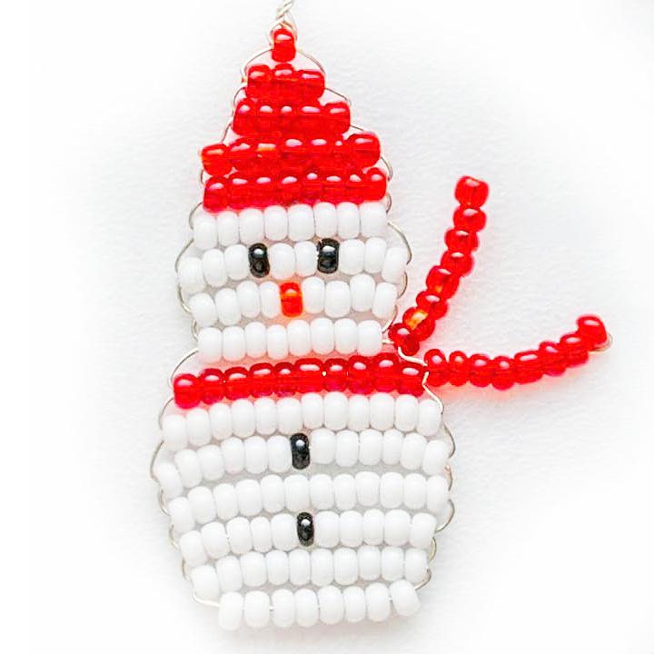 Снежинки из бисера своими руками: схемы для начинающих, как сделать простые вышивки с бусин и пайеток детям пошагово