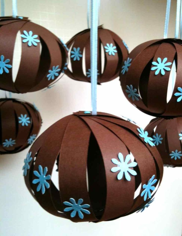 Новогодние шары своими руками: мастер-классы по украшению