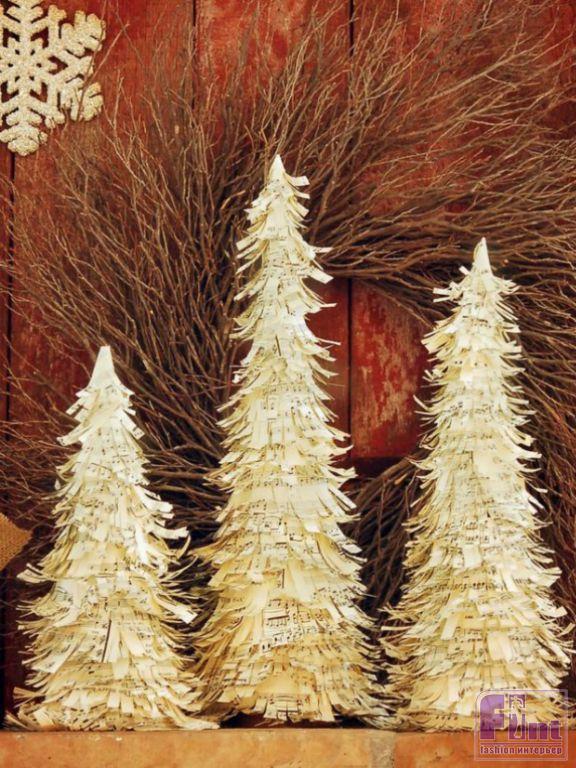 Замечательные фото идеи новогодней елки 2021 своими руками: топ-10 альтернативных вариантов  | beautylooks
