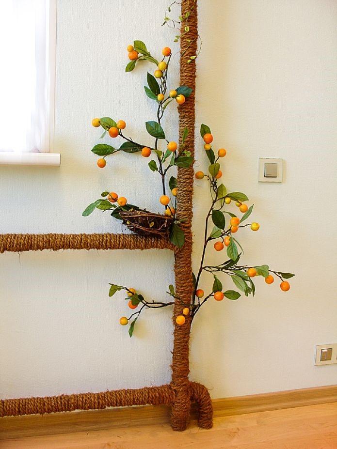 Как задекорировать трубу отопления в комнате: фото декоративных накладок, короб, кольца, обвод для декора, декорировать розетками