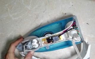 Как правильно разобрать бытовой утюг филипс azur