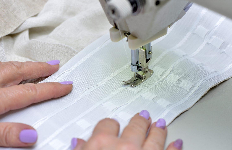 Как подшить шторы своими руками в домашних условиях: на швейной машинке и не обрезая