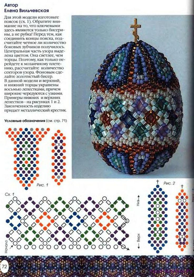 Бисероплетение пасхальные яйца видео, схемы, фото, мастер класс. как оплести бисером пасхальное яйцо, красивые схемы. статья поможет научиться оплетать яйцо бисером и выполнять интересные схемы на яйцах.