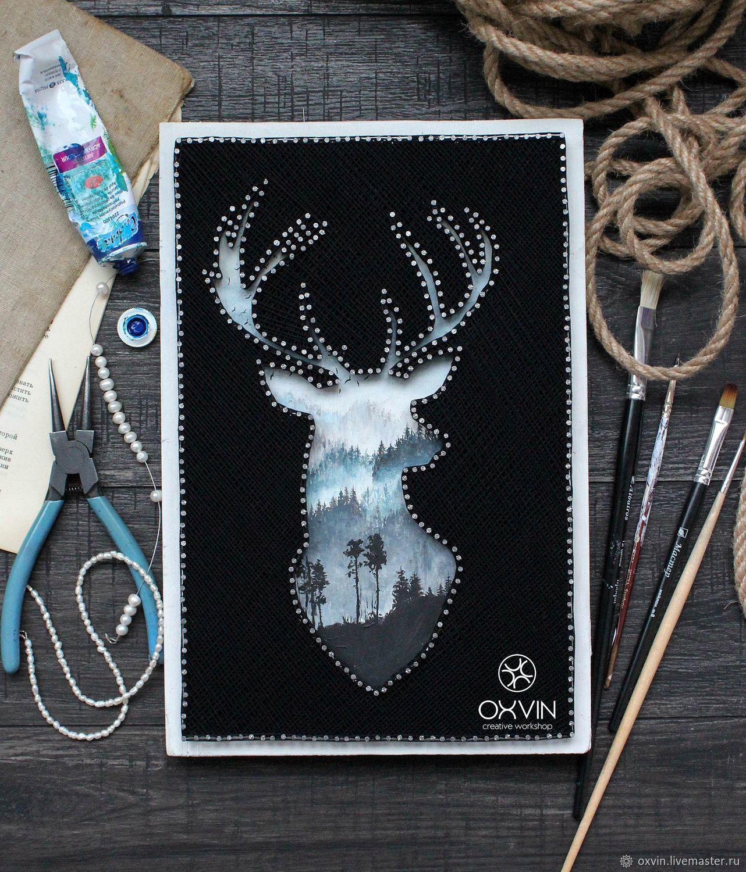 Стринг арт шаблоны: 82 фото схемы для картины из гвоздей и ниток