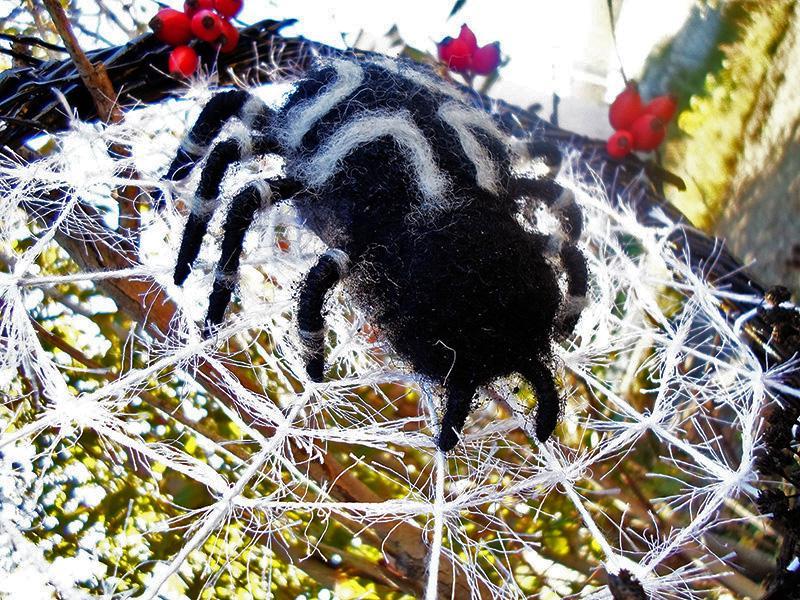 Как сделать паука своими руками: схемы для начинающих