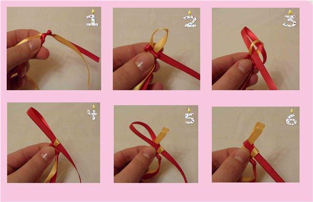 Плетём браслеты из ленточек и бусин своими руками - схемы, пошаговые описания хода работы и видео