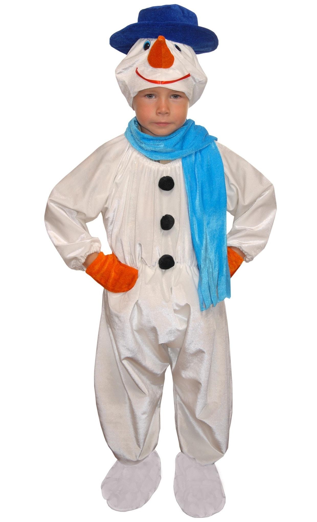 Костюм снеговика своими руками - пошив праздничного наряда от а до я (90 фото + видео)