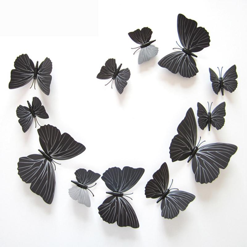 Порхающие бабочки в интерьере — как красиво украсить дом
