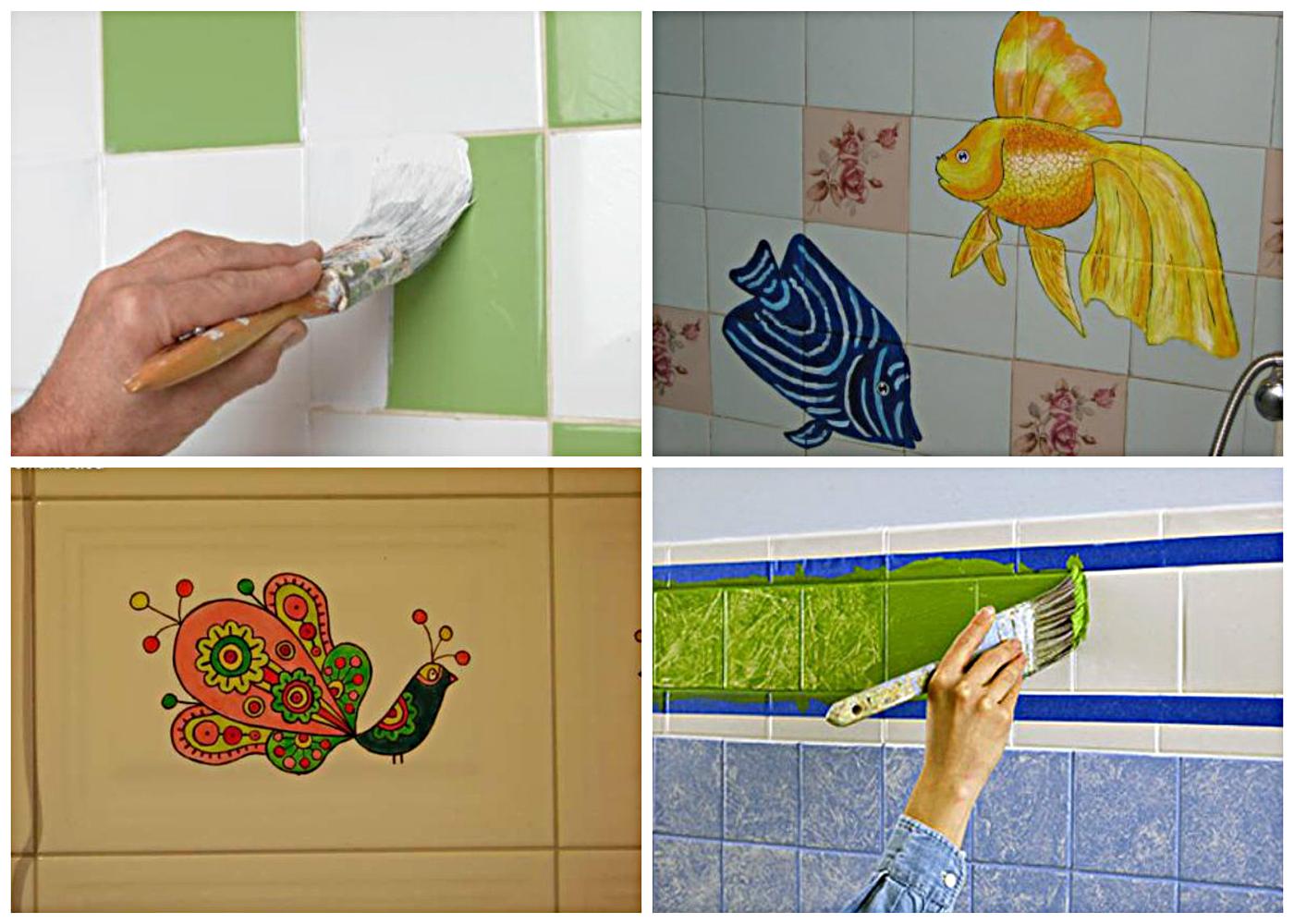 Декор ванной комнаты плиткой +50 фото примеров и способов
