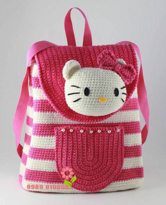 Летние сумочки для девочки, вязаные крючком