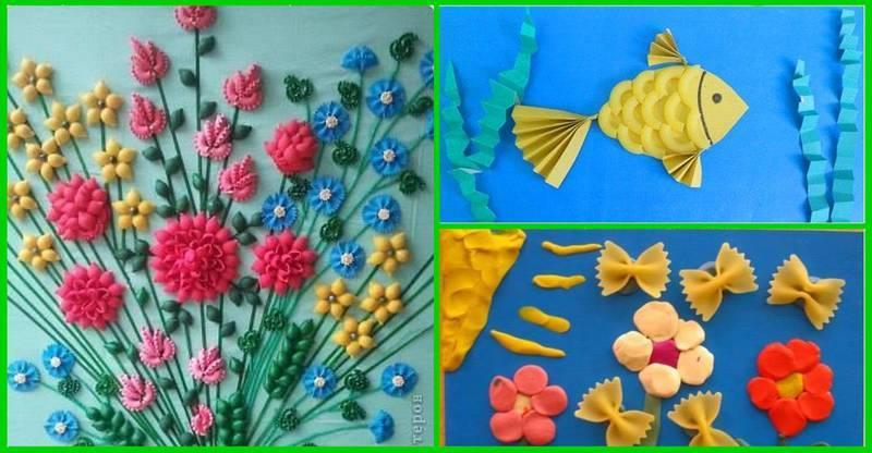 Поделки из макарон (115 фото): пошаговый мастер класс, видео инструкции для детей