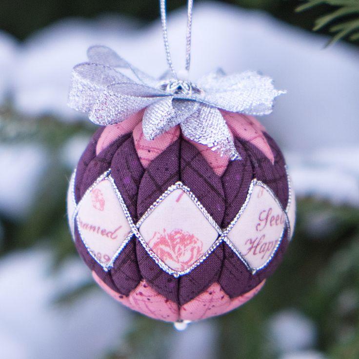 Игрушка ёлочная новый год артишок новогодние шары в технике артишок ленты