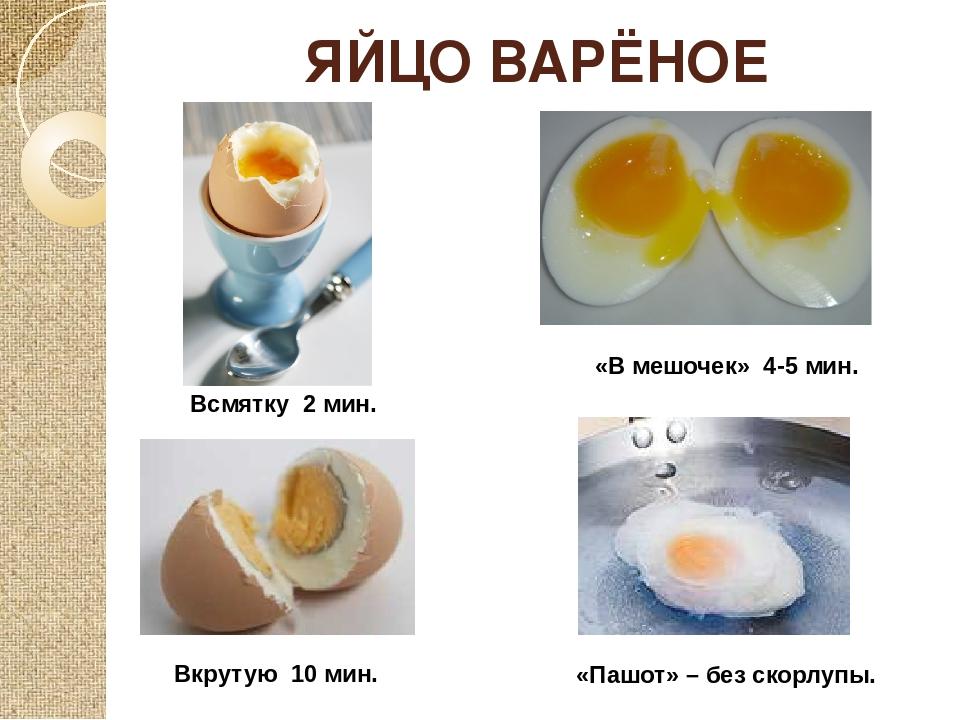 Как сварить яйца вкрутую, в мешочек, всмятку - что и как. ответы на вопросы.