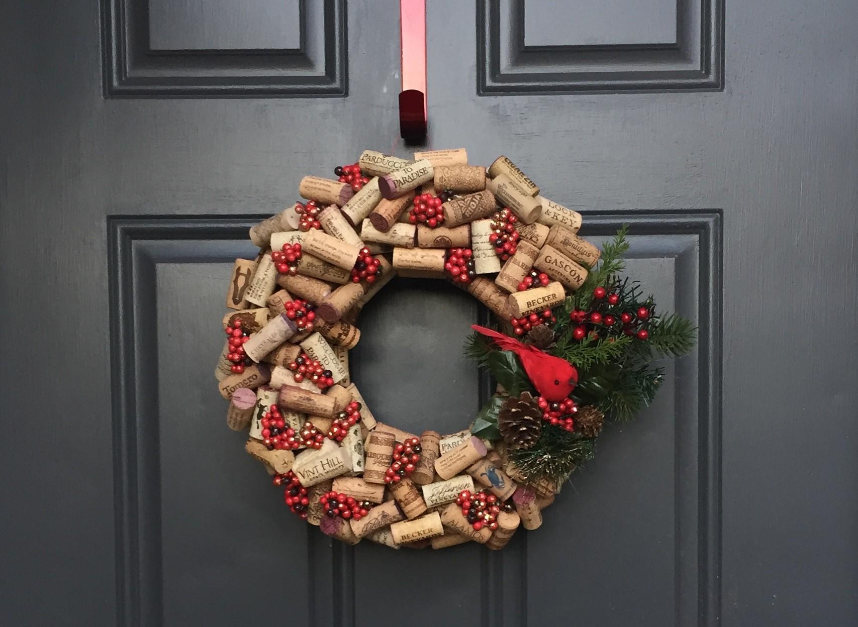 ? рождественский венок своими руками | 50 фото новогодних венков на дверь и не только