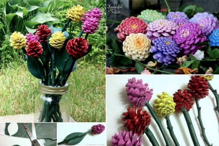 Составление букетов из живых цветов — часть 1