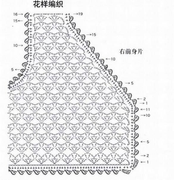 Безрукавка женская крючком: тёплая безрукавка (жилетка) крючком для женщин.