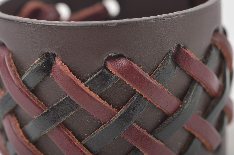 Как сделать браслет из кожи своими руками: мастер-класс со схемами