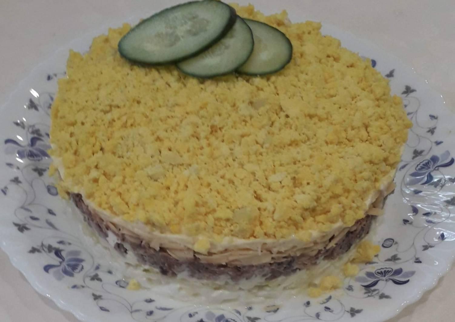 Салат мимоза: классический рецепт приготовления с фото