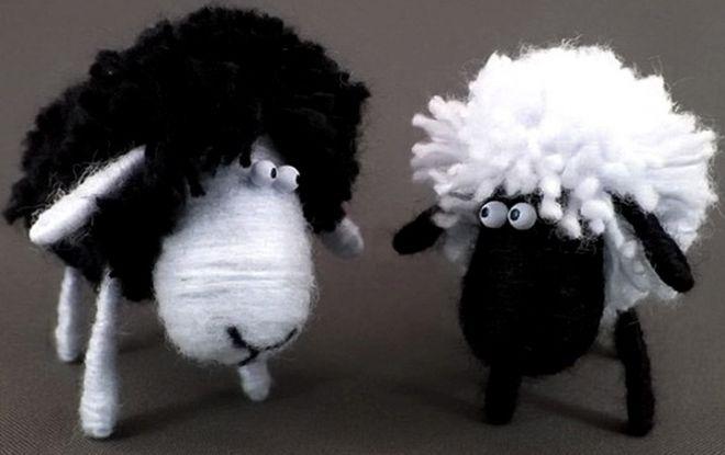 Как сделать овцу своими руками? овца своими руками: мастер-классы с пошаговыми фото. красивая новогодняя поделка овечка, созданная своими руками, будет прекрасным подарком или дополнением к подарку для близкого человека как сделать овечку из подручных мат