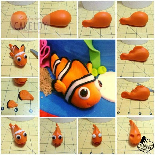 Поделки из пластилина - 73 фото идей легких детских изделий из пластилина