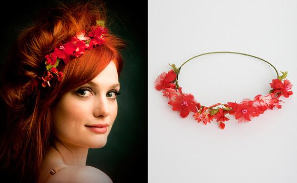 Ободки с цветами: 85 фото стильных, необычных и оригинальных идей оформления ободков