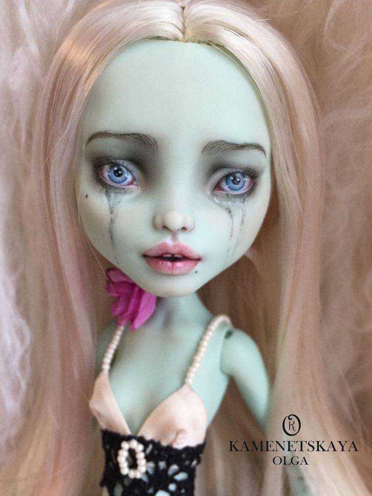 Ооак куклы до и после. демонесса ооак из старой куклы
