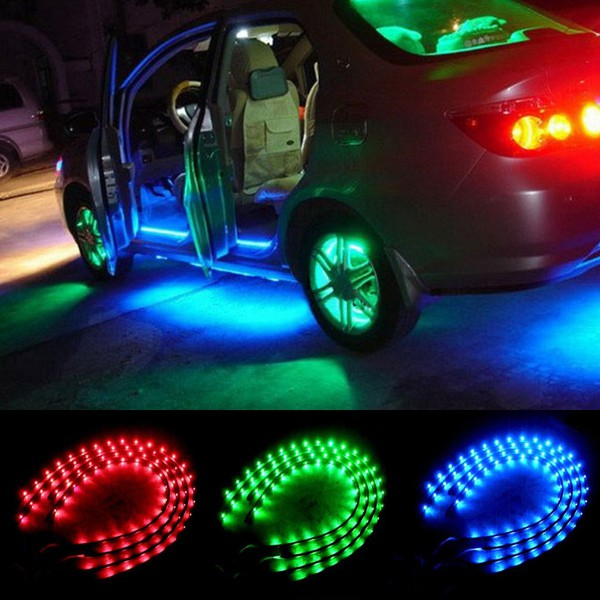 Как сделать подсветку дисков автомобиля своими руками