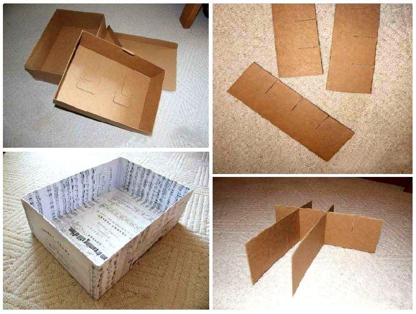 ᐉ универсальная коробочка из картона - своими руками -