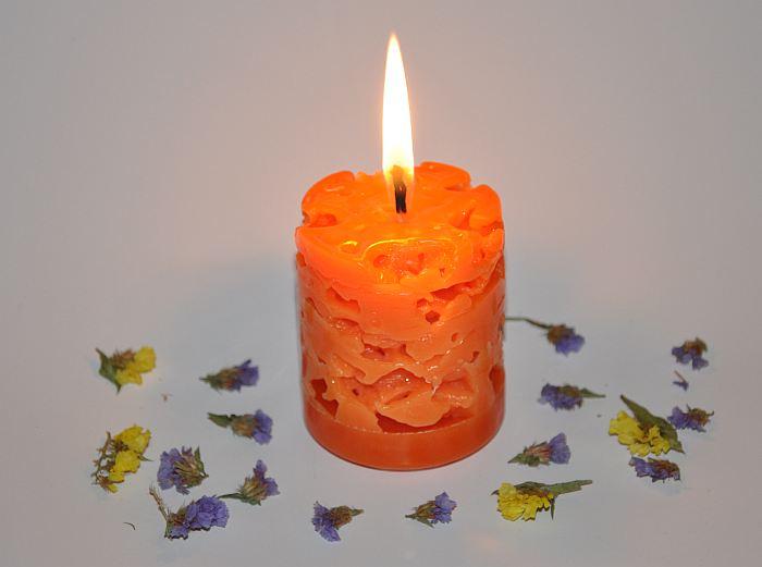 Декор свечей своими руками, как украсить и оформить свечу, варианты украшения и декорирования