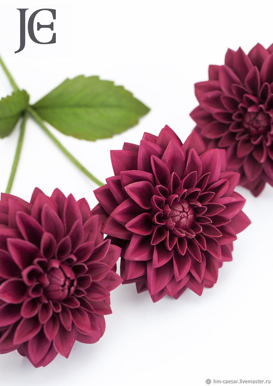 Мастер-класс по фоамирану: орхидея, георгин и мак с фото и видео