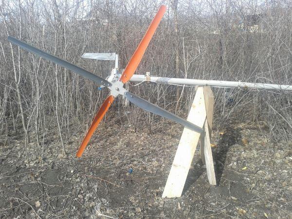 Ветряной электрогенератор на 5 вольт своими руками