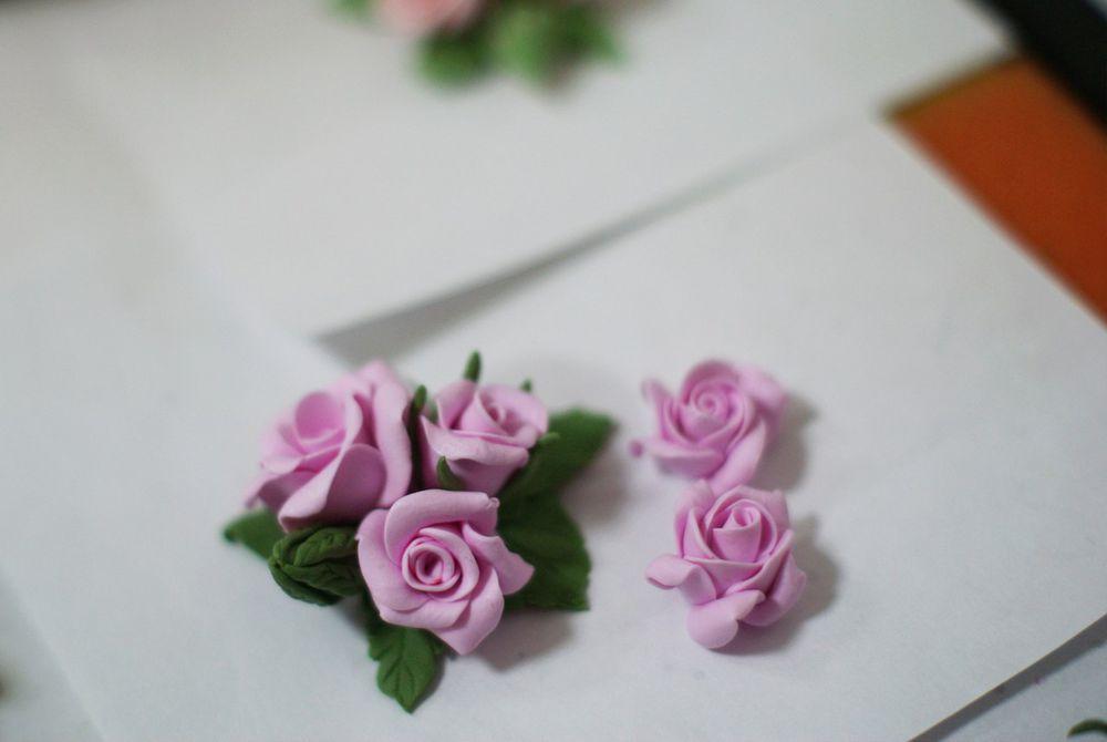 Цветы из полимерной глины или керамическая флористика: как это делается?