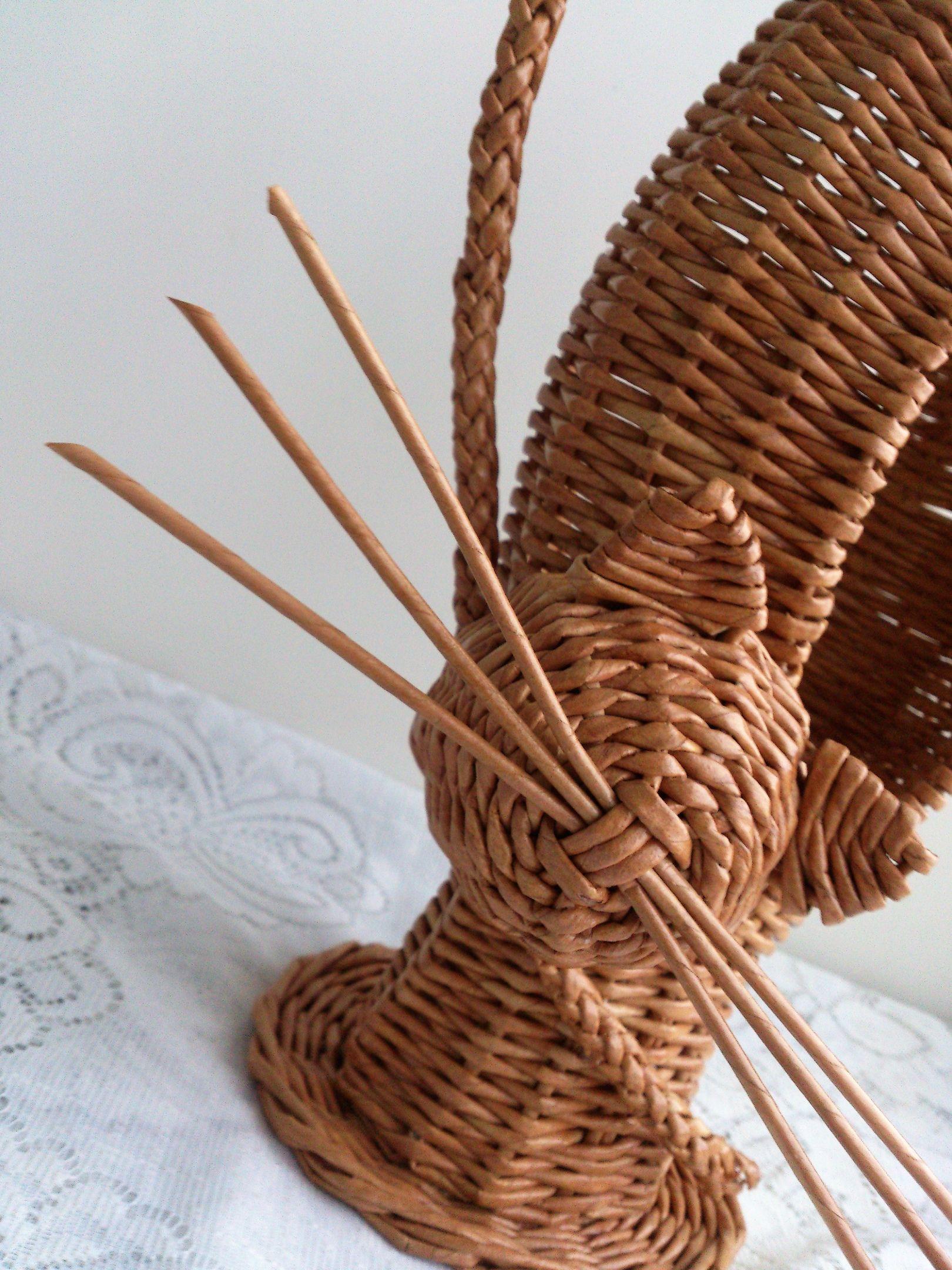 Поделки из коктейльных трубочек. мастер-класс с родителями «нетрадиционные техники использования коктейльных трубочек плетение корзинок из коктейльных трубочек своими руками