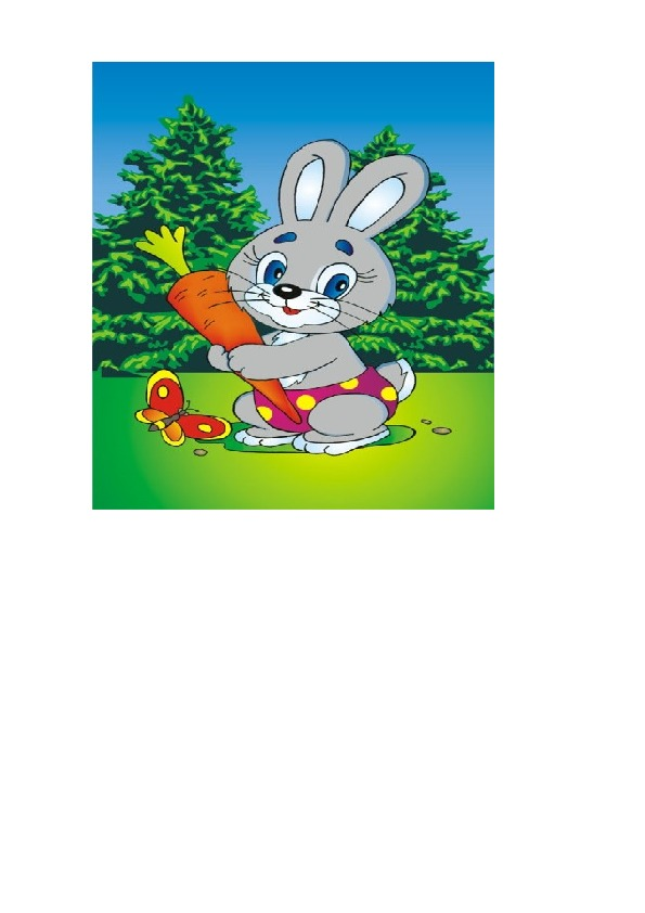 Физкультурный досуг «зайчонок в гостях у ребят» в разновозрастной группе (младший и средний возраст)