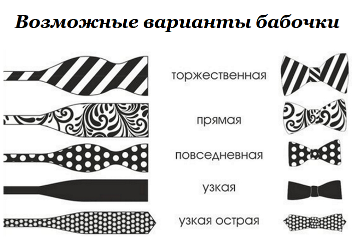 Шьём галстук-бабочку | страна мастеров