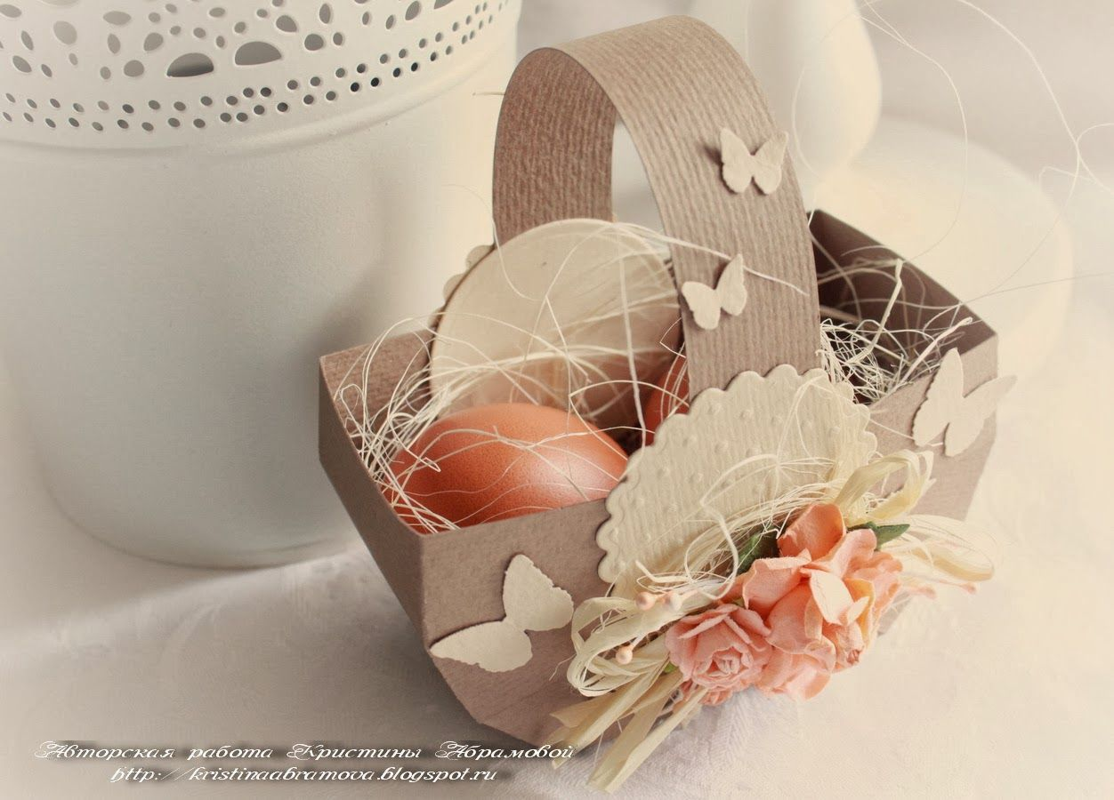 Мастер-класс упаковка подарка пасха аппликация квиллинг оригами корзинка для пасхального яйца бумага бумага гофрированная