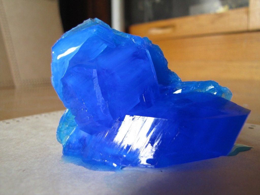 Как вырастить кристалл из медного купороса в домашних условиях + фото и видео