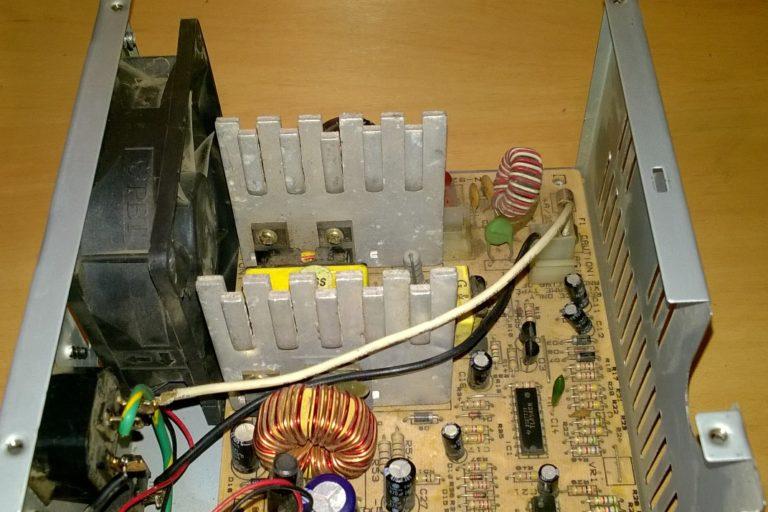 Зарядное устройство для автомобильного аккумулятора из блока питания компьютера. — своими руками