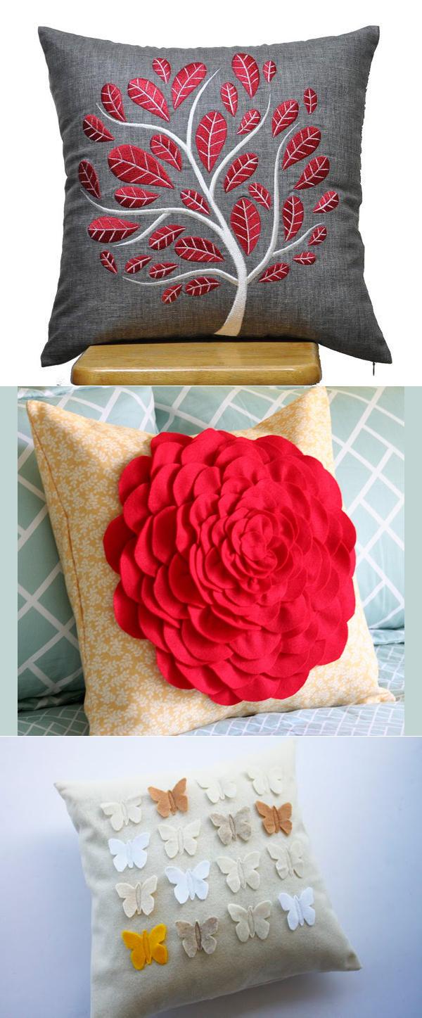Украшаем дом декоративными подушками