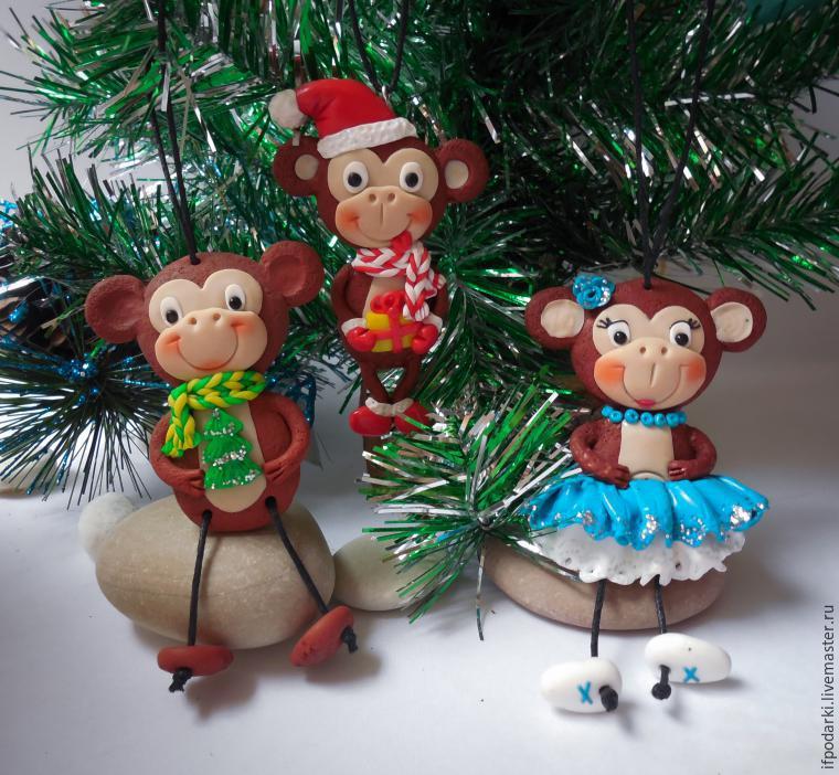 Кукла шитьё обезьянка анфиска капрон мех проволока