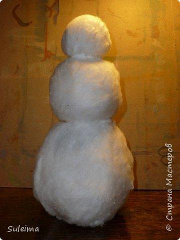 «веселый снеговик». занятие с применением нетрадиционных техник рисования