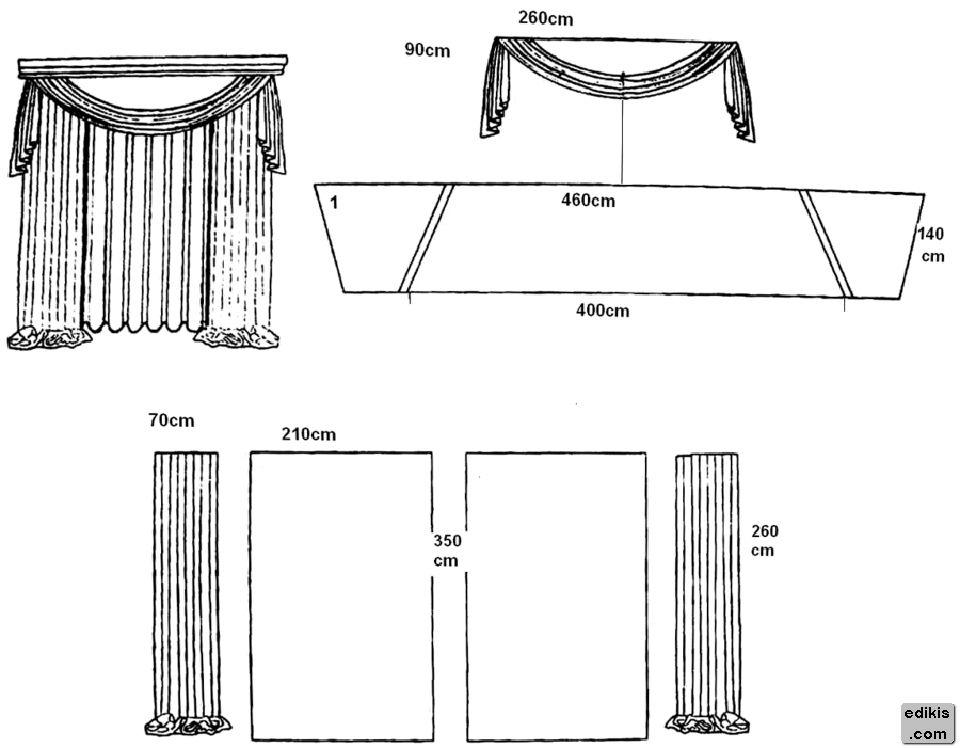 Тюль для кухни - правила дизайна, инструкция по шитью, идеи (фото)
