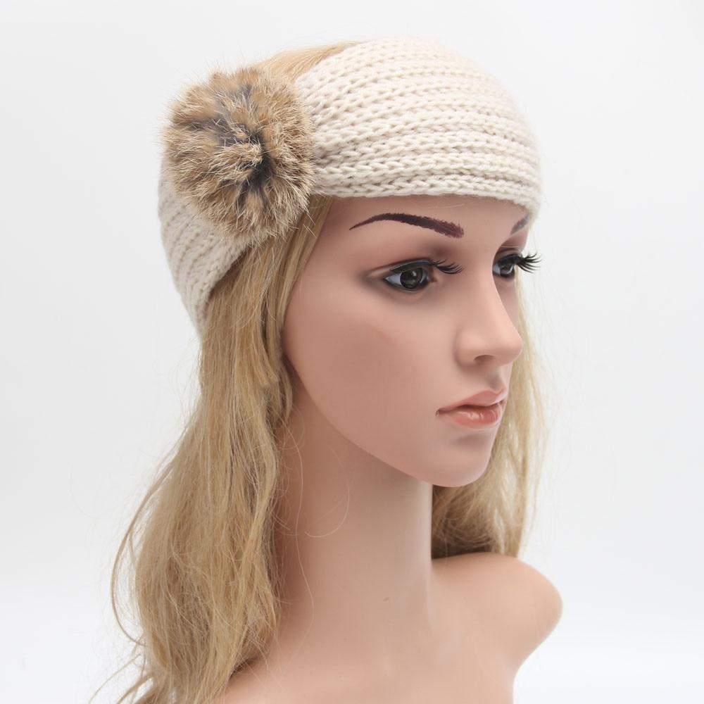 Теплая повязка на голову