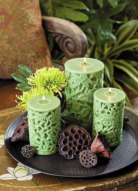 Изготовление ароматических свечей в стеклянной баночке — своими руками