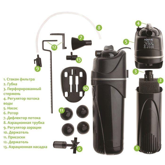 Фильтр для аквариума aquael инструкция по применению