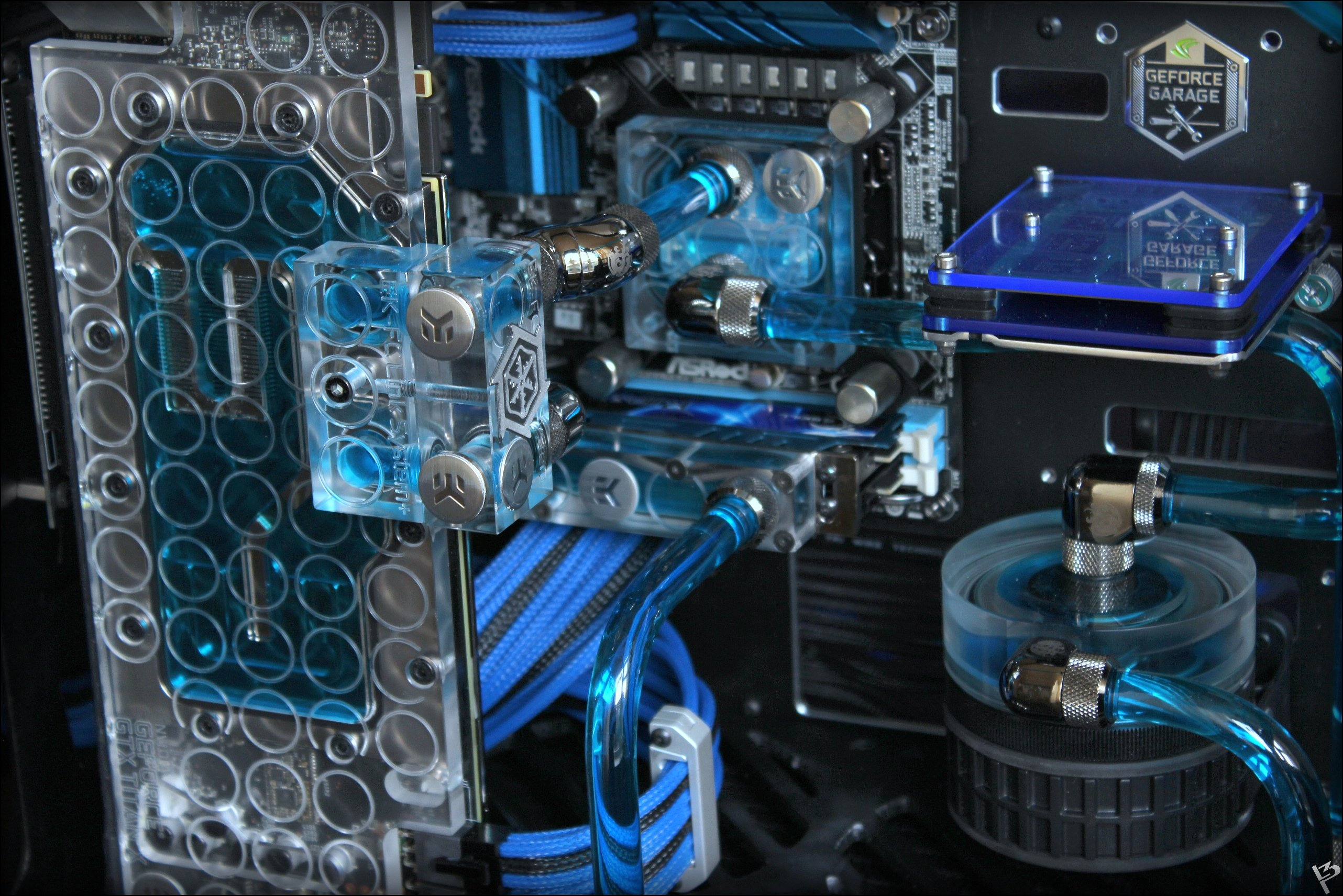 Система жидкостного охлаждения компьютера— она же водянка